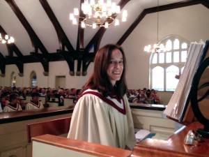 Barbara Byrd is Organist and Choir Director at Graham Presbyterian Church.